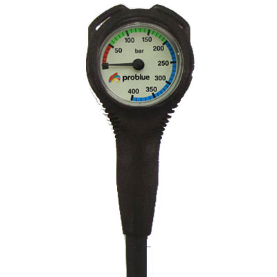 Manometer metrisch / Ø 53 mm ZWART