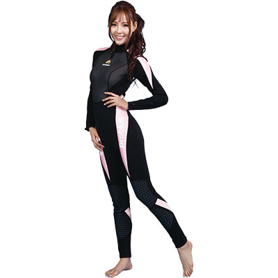 Jumpsuit 3 mm roze / Dames